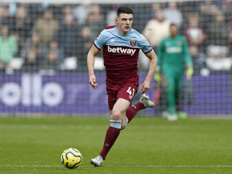 Declan Rice von West Ham United.