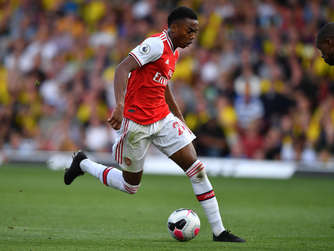 Joe Willock vom FC Arsenal.