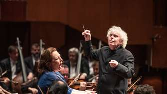 Sir Simon Rattle und das Symphony Orchestra London: In rasanter Fahrt