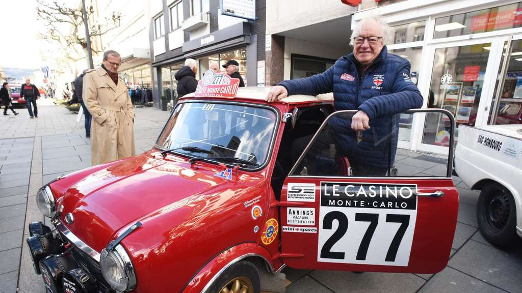 Bad Homburg: Start für 23. Rallye Monte Carlo