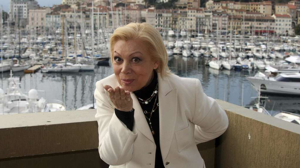 Mirella Freni in Cannes, 2010.