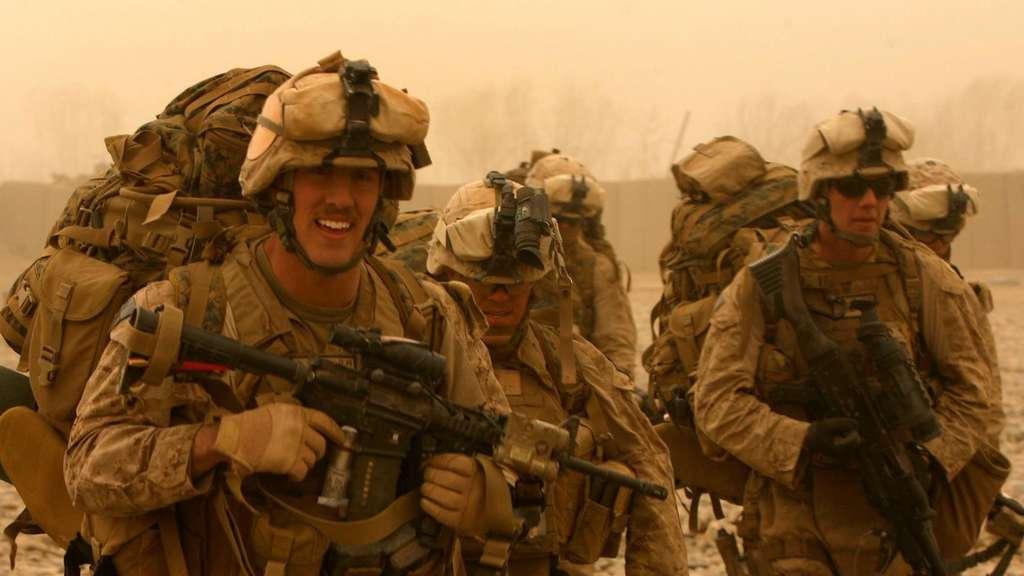 US-Soldaten in der Provinz Helmand im Jahr 2010.