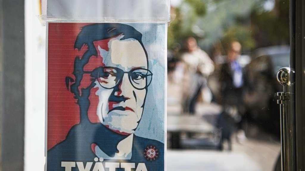 Hat Schweden einen eigenen Weg gewiesen: Staatsepidemiologe Anders Tegnell. Jonathan NACKSTRAND/AFP