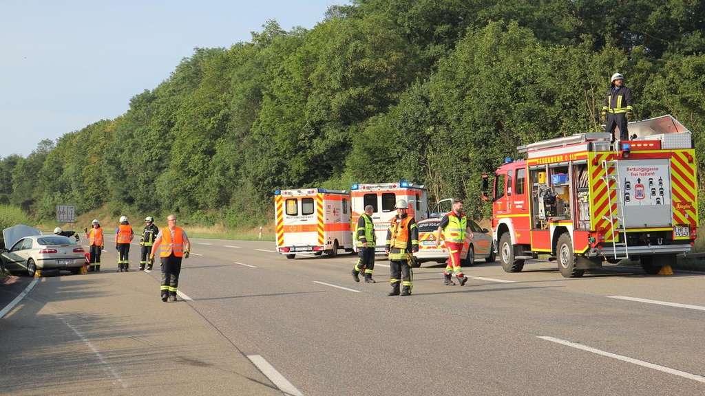 Unfall Kassel A7