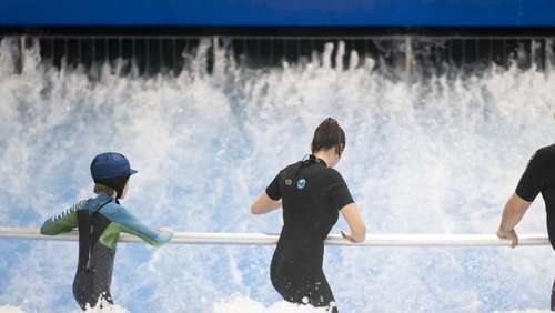 So funktioniert das Indoor-Surfen