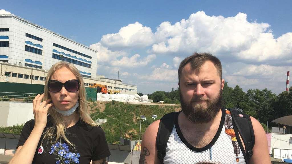 Катя Максимова и Глеб Косоруков.