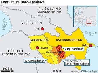 Der Krieg Um Bergkarabach Halt An So Schatzt Ein Experte Die Aktuelle Lage Ein Politik