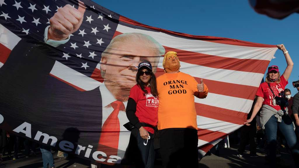 Donald Trump Fans Orange man