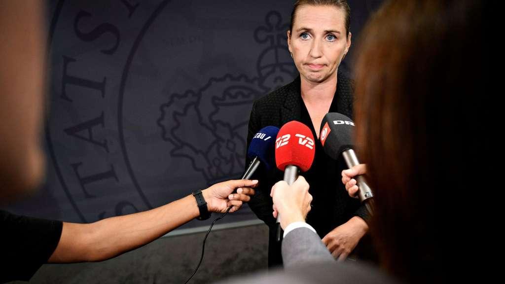 Kassiert Hohn und Spott: Mette Frederiksen.