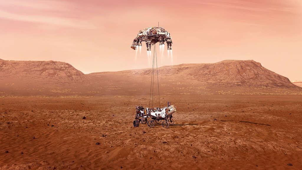 Sauerstoff Auf Dem Mars