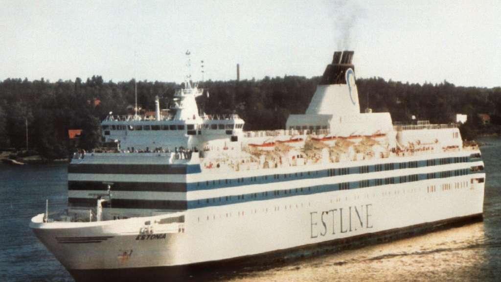 """Die """"Estonia"""" wurde zwischen Stockholm und Tallinn eingesetzt. Warum ging sie im September 1994 in der Ostsee unter? Diese Frage ist bis heute nicht abschließend beantwortet.  dpa"""