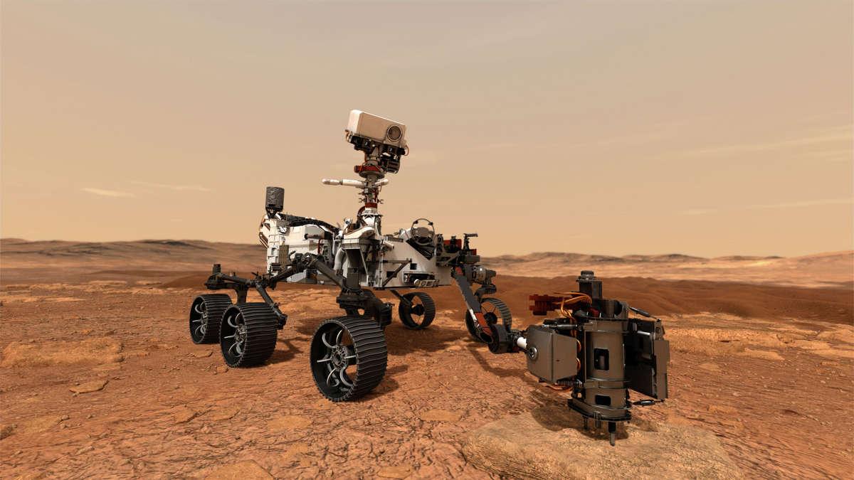 """""""Mars 2020"""": Helikopter an Bord von NASA-Rover """"Perseverance"""" soll etwas scheinbar Unmögliches beweisen - fr.de"""