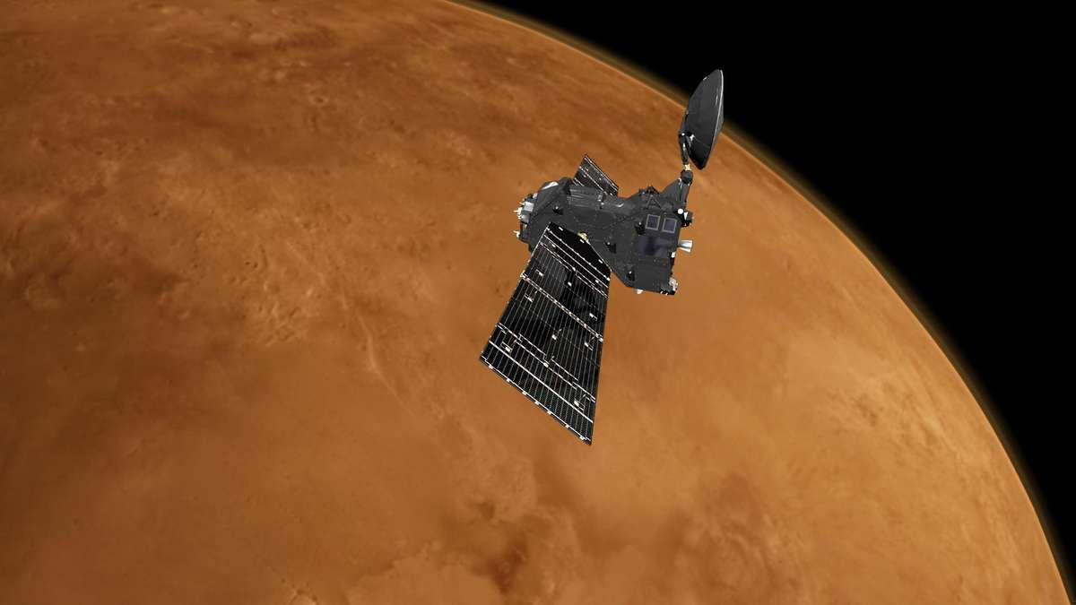 Leben auf dem Mars: Wasserdampf in der Atmosphäre entdeckt - fr.de