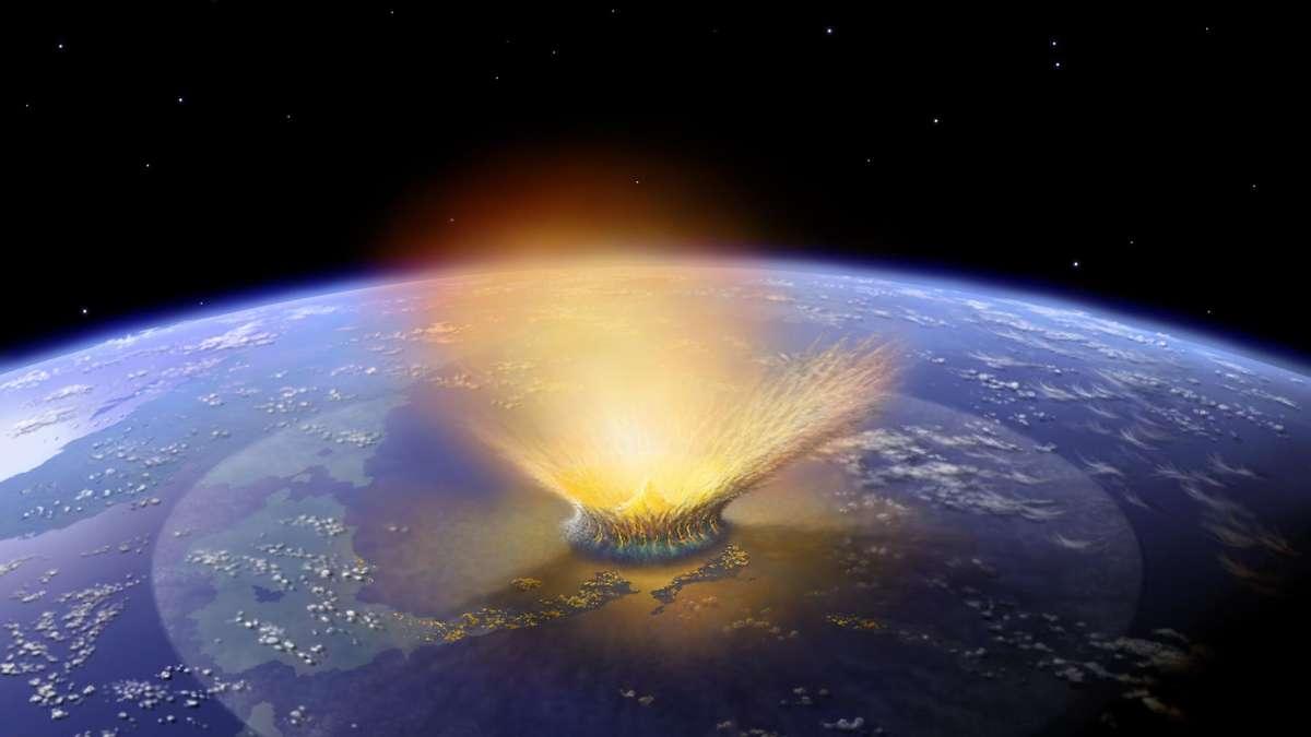 Neues Modell: War es kein Asteroid, der die Dinosaurier aussterben ließ? - fr.de