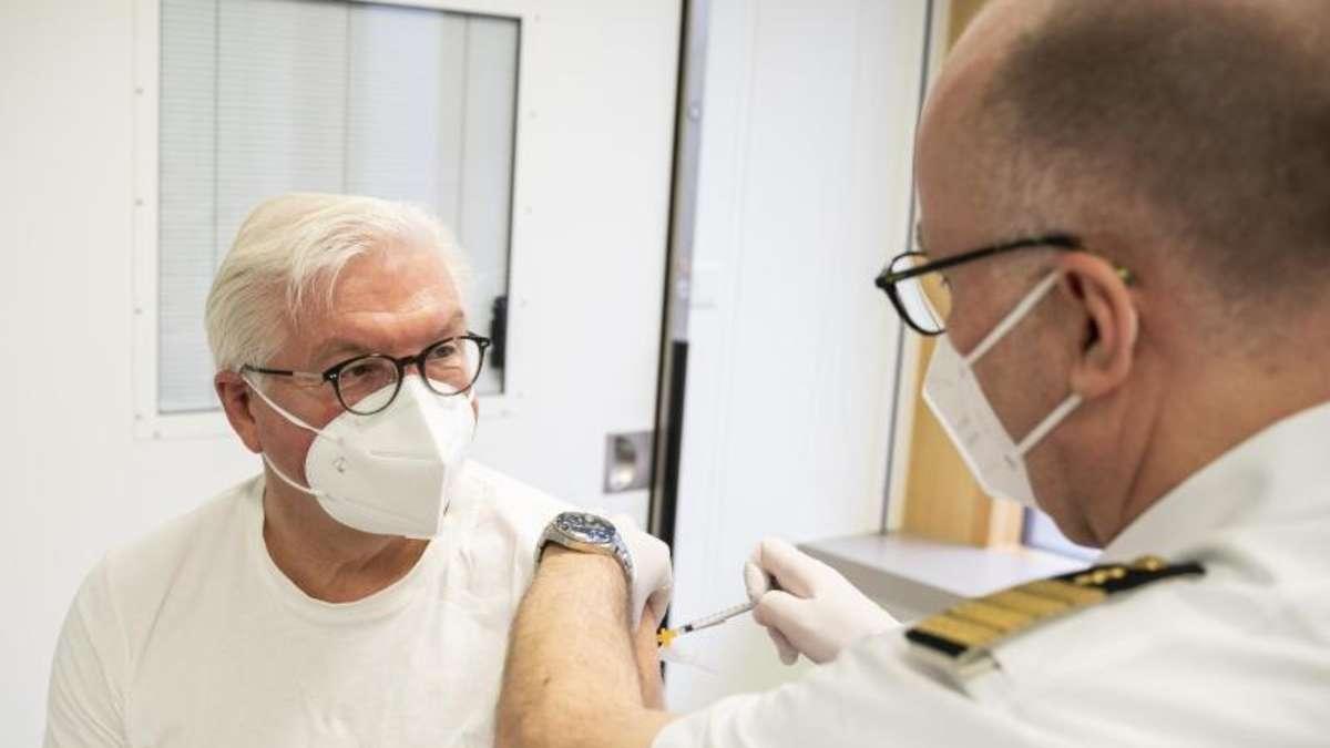 Astrazeneca: Steinmeier lässt sich impfen, Seehofer lehnt ab
