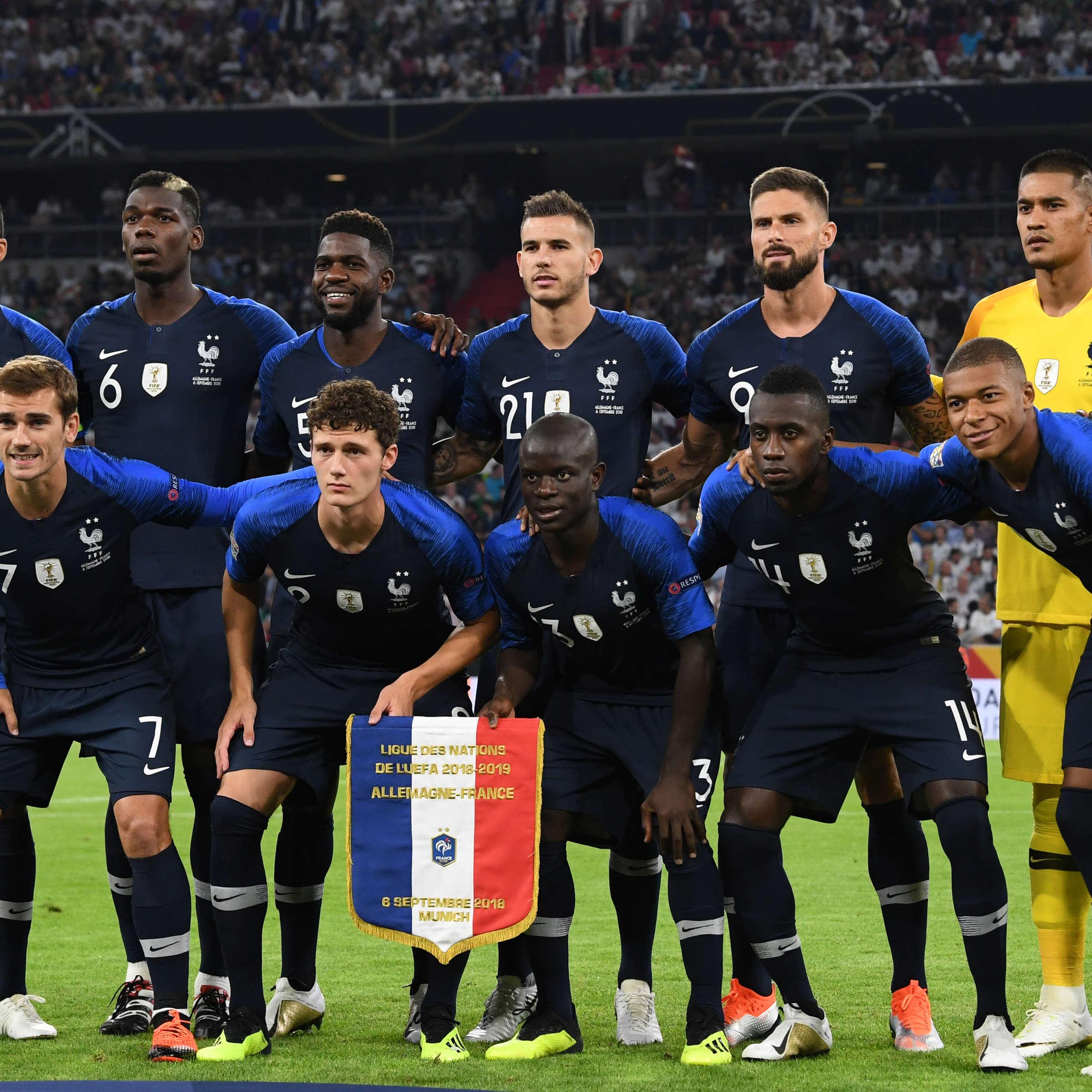 Franzosische Nationalmannschaft Erfolge Rekorde Trainer Alle Infos Zur Equipe Tricolore Fussball
