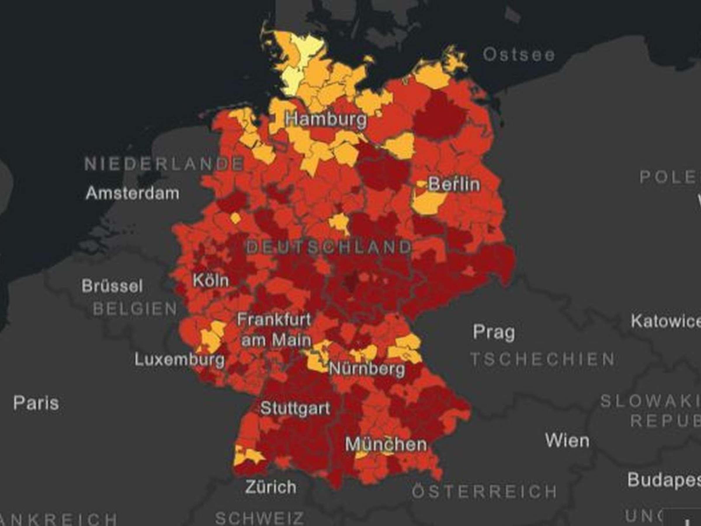 Corona in Deutschland 20 Neuinfektionen   RKI meldet die ...