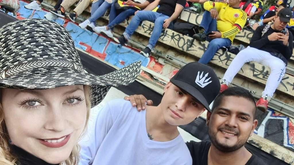 Rebecca Sprößer, 34, in Kolumbien verfolgte Aktvistin der Opposition.