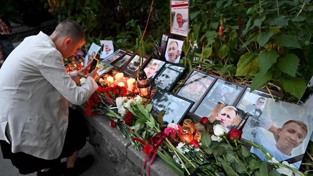 Trauer um den belarussischen Aktivisten Schischow.