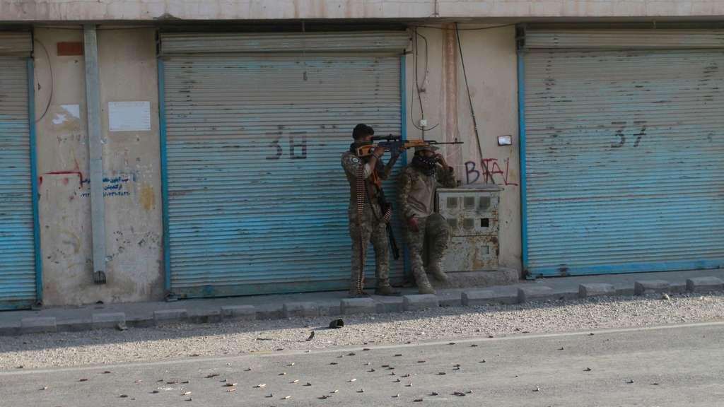 Kampf in Herat