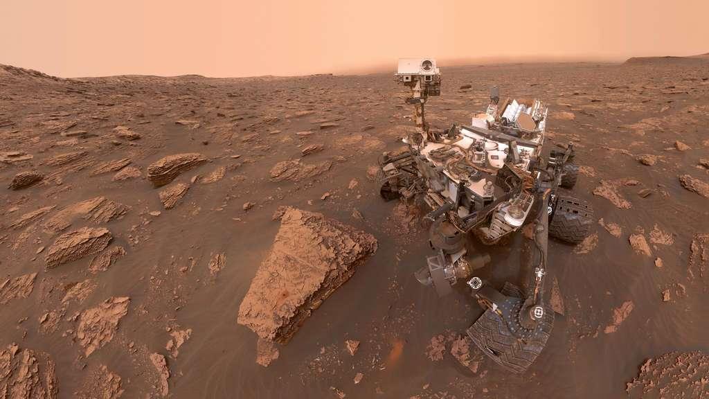 """Zwischen der Nasa und dem Mars-Rover """"Curiosity"""" wird es im Oktober 2021 zwei Wochen Funkstille geben. (Archivbild)"""